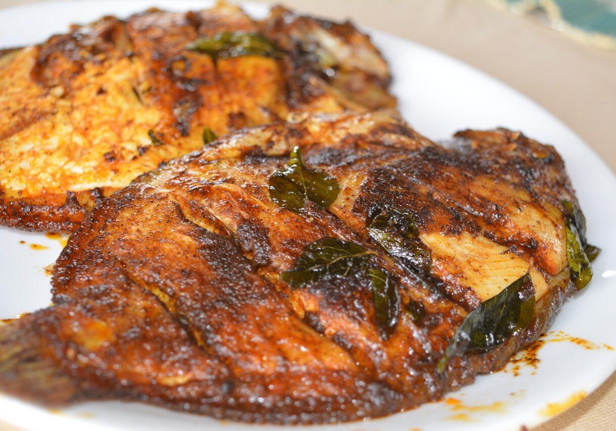 karimeen, kerala cuisine, healthy
